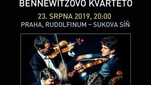 BENNEWITZOVO KVARTETO/Festival VĚČNÁ NADĚJE/Gustav Mahler a terezínští skladatelé 2019