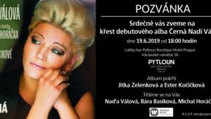 19.6. pokřtí Jitka Zelenková a Ester Kočičková nové album Nadi Válové