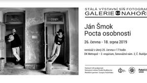 """Galerie Nahoře - výstava """"JÁN ŠMOK - Pocta osobnosti"""""""