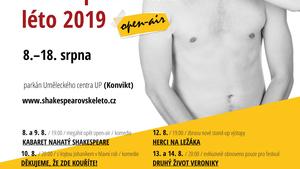 "Open-air festival Olomoucké ""nejen"" shakespearovské léto"