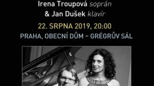 IRENA TROUPOVÁ & JAN DUŠEK/Festival VĚČNÁ NADĚJE/Gustav Mahler a terezínští skladatelé 2019