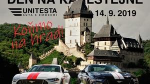 Den na Karlštejně - Koňmo na hrad!