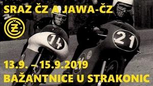 Sraz ČZ a Jawa-ČZ při oslavách 100let ČZ