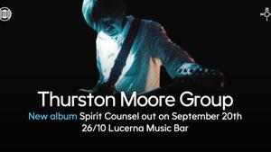 Thurston Moore Group - Lucerna Music Bar