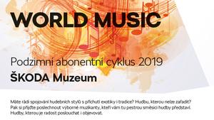 """ZUZANA LAPČÍKOVÁ QUINTET   PODZIMNÍ ABONENTNÍ CYKLUS """"WORLD MUSIC"""""""