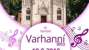 IV. Varhanní koncert 19. 9. 2019