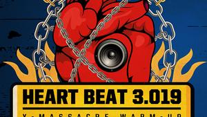 HEART BEAT 3.019/X-MASSACRE WARM-UP/NOCTURNAL CREW RESURRECTION