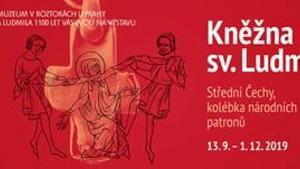 Výstava Kněžna sv. Ludmila - Středočeské muzeum v Roztokách u Prahy