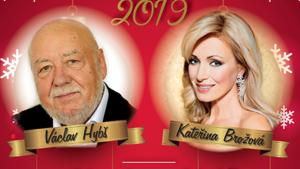 Vánoční koncert 2019/Václav Hybš s orchestrem/Kateřina Brožová a další hosté