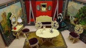 Výstava Kuchyňky a pokojíčky aneb jak bydlely panenky