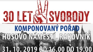 Muzeum T. G. M. Rakovník - Pozvánka na komponovaný pořad 30 let svobody