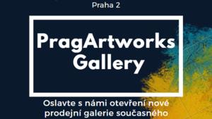 Otevření nové galerie současného českého umění PragArtworks
