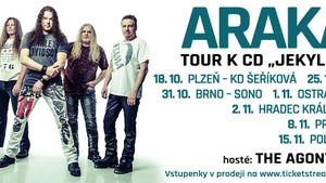 Arakain - podzimní tour