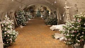 Výstava vánočních ozdob v Zámeckém sklepení v Litomyšli