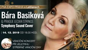Vánoční koncert Báry Basikové při veletrhu STŘÍBRNÉ VÁNOČNÍ DNY v PVA EXPO PRAHA v Letňanech