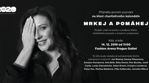 Přijďte do Fashion Arena Prague Outlet pokřtít charitativní kalendář na podporu ochrnutého Marka trpícího locked-in syndromem