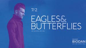 Všestranný zázrak taneční elektroniky Eagles & Butterflies zahraje poprvé v Čechách
