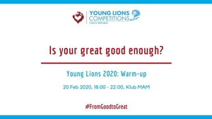 Is your great good enough? Young Lions 2020: Warm-up