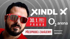 Xindl X v O2 areně