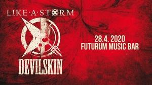 Like A Storm & Devilskin - Futurum Music Bar