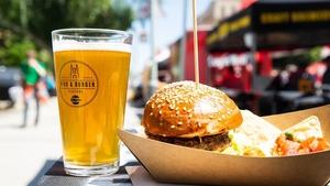 Pivo a burger festival 2020 - Karlínské náměstí