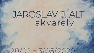 Akvarely Jaroslava J. Alta v roudnické galerii
