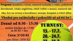 Tenisový příměstský tábor v Brně