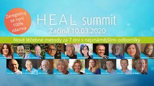 Heal summit - bezplatná online konference v oblasti zdraví a léčení
