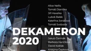 DEKAMERON 2020 - premiéra filmu - Divadlo na Fidlovačce
