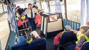 Autobus v Divadle Minor