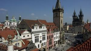 Staroměstská radnice a Pražský orloj v Praze