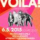Voila! oslaví páté narozeniny koncertem v Lucerna Music Baru