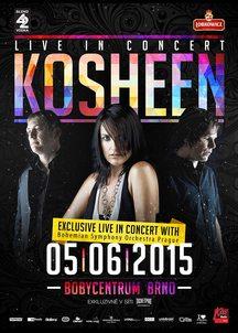 KOSHEEN se po čtyřech letech vrací do Brna, tentokrát exkluzivně se symfonickým orchestrem!