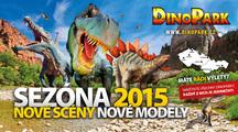 Nová sezóna 2015 v DinoParku začíná!