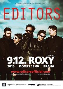 Editors vystoupi 9. 12. v Roxy