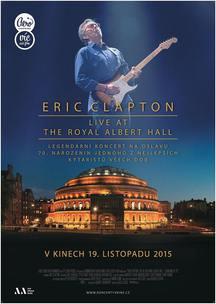 Do kin se chystá kytarový mág Eric Clapton v jubilejním koncertě z Royal Albert Hall