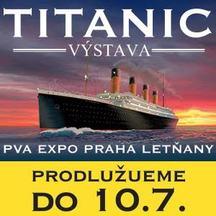 Výstava Titanic kvůli velkému zájmu prodloužena