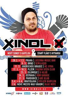 Multimilionář XINDL X za dva týdny vyráží na turné. První dva koncerty jsou již vyprodané!