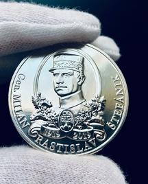 Čestná medaila zadarmo pre každého! Razba pripomenie 100. výročie M. R. Štefánika