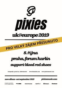 Vyprodaný koncert Pixies se přesouvá do Fóra Karlín