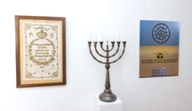 Snímky opravené funkcionalistické synagogy jsou vystaveny na zatím otevřeném Špilberku