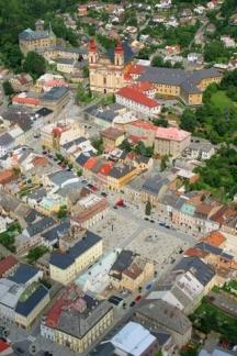 Šternberk -  město s mimořádným historickým jádrem a unikátní dochovanou architekturou