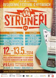 Na festivalu Struneři vystoupí kytaroví mistři – Michal Pavlíček, Radim Hladík a řada dalšíc