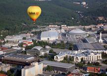 Výlet balónem nad Brnem