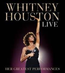 První výběr nezapomenutelných živých vystoupení Whitney Houston vyjde na CD a CD+DVD 7. listopadu 2014
