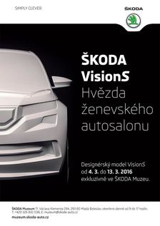 Model VisonS ve ŠKODA Muzeu