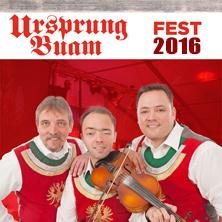 Ursprung Buam Fest