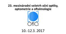 OPTA 2017 - Mezinárodní veletrh oční optiky, optometrie a oftalmologie
