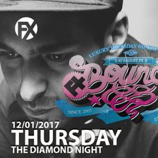 FX BOUNCE! THE DIAMOND NIGHT - DJ Kwé (FX Bounce! Prague) a DJ Saybon