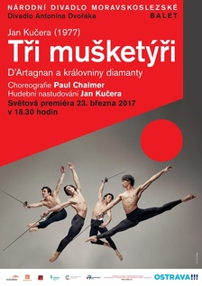 Tři mušketýři - Divadlo Antonína Dvořáka